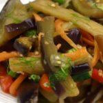 Салат из баклажанов - рецепт по-корейски