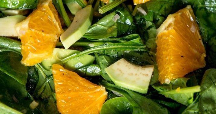 Азиатский салат с апельсином — рецепт