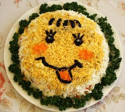 Салат Колобок рецепт приготовления