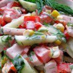 Салат Парижель рецепт приготовления