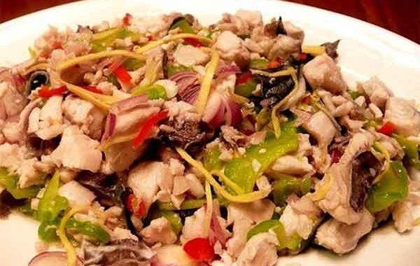 Салат из мяса кролика рецепт