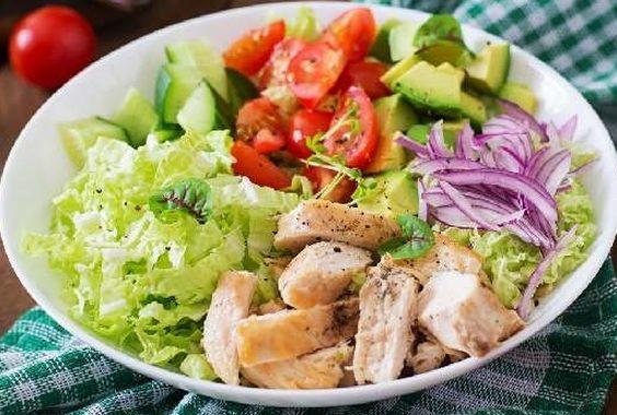 Куриный салат рецепт приготовления