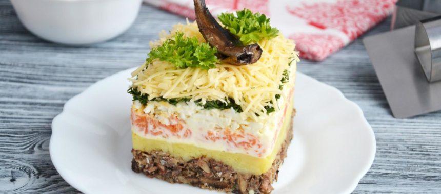 Салат Океан рецепт приготовления