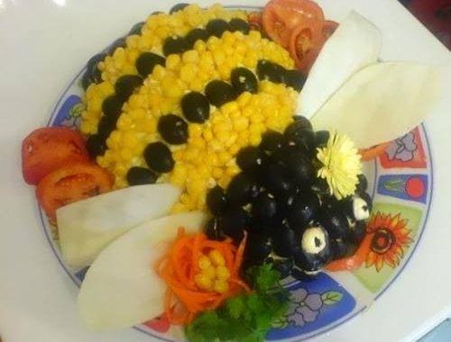 Салат «Пчелка» рецепт приготовления