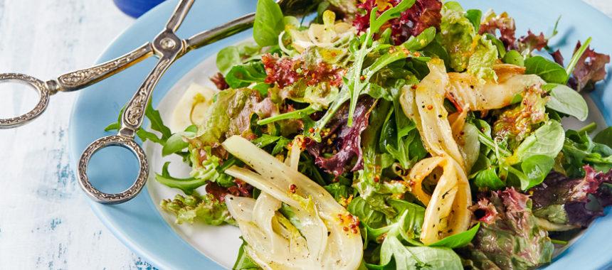 Салат с фенхелем рецепт приготовления