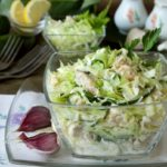 Салат капустный с курицей рецепт