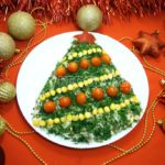 Новогодний салат «Елочка» рецепт