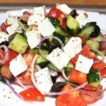 Классический греческий салат рецепт