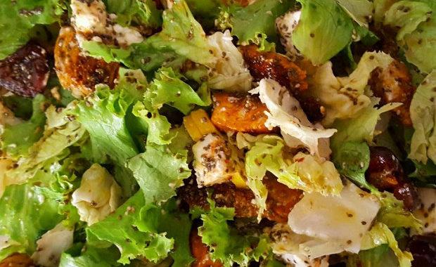 Итальянский салат из филе индейки