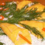 Салат «Весенний букет» рецепт приготовления