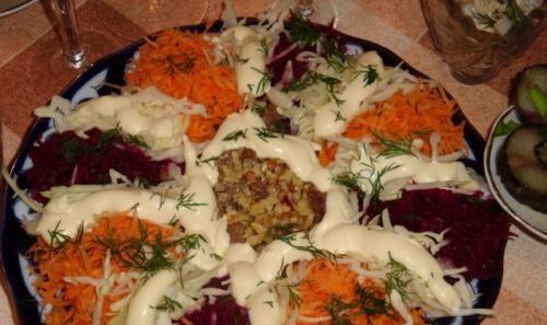 Салат «Ромашка» рецепт приготовления
