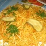Салат из печени рецепт приготовления