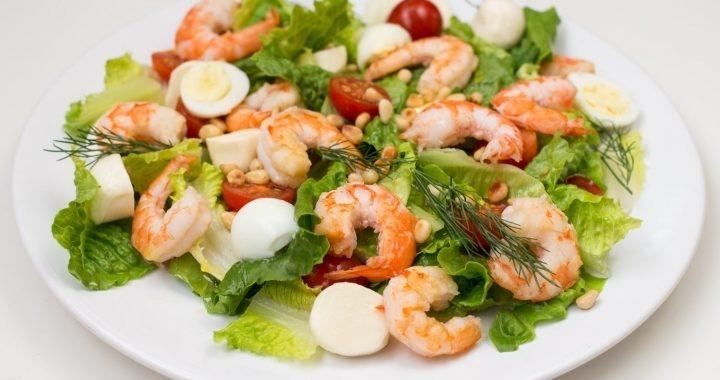 Салат из креветок рецепт приготовления