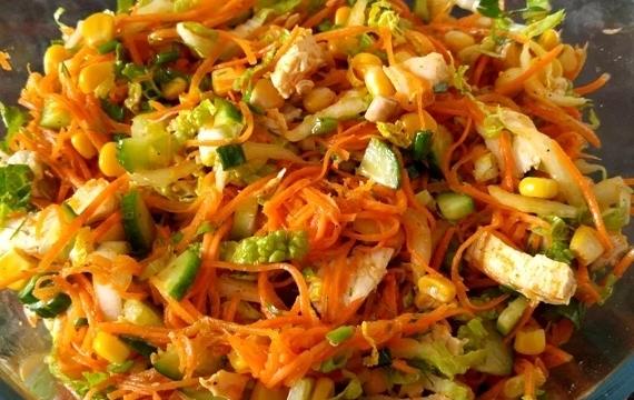 Салат «Застольный» рецепт приготовления