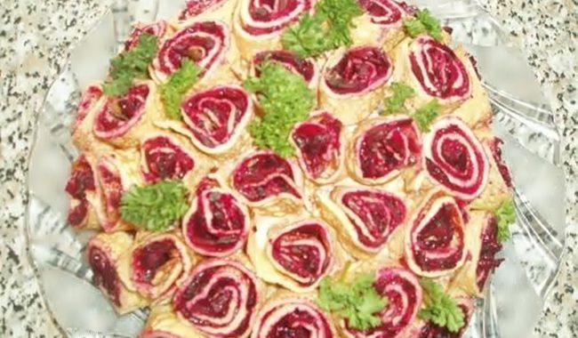 Салат «Букет» рецепт приготовления