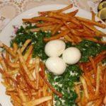 Салат «Гнездо глухаря» рецепт приготовления
