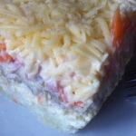 Семислойный салат рецепт приготовления